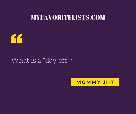 What is a Day off Mommy Jhy