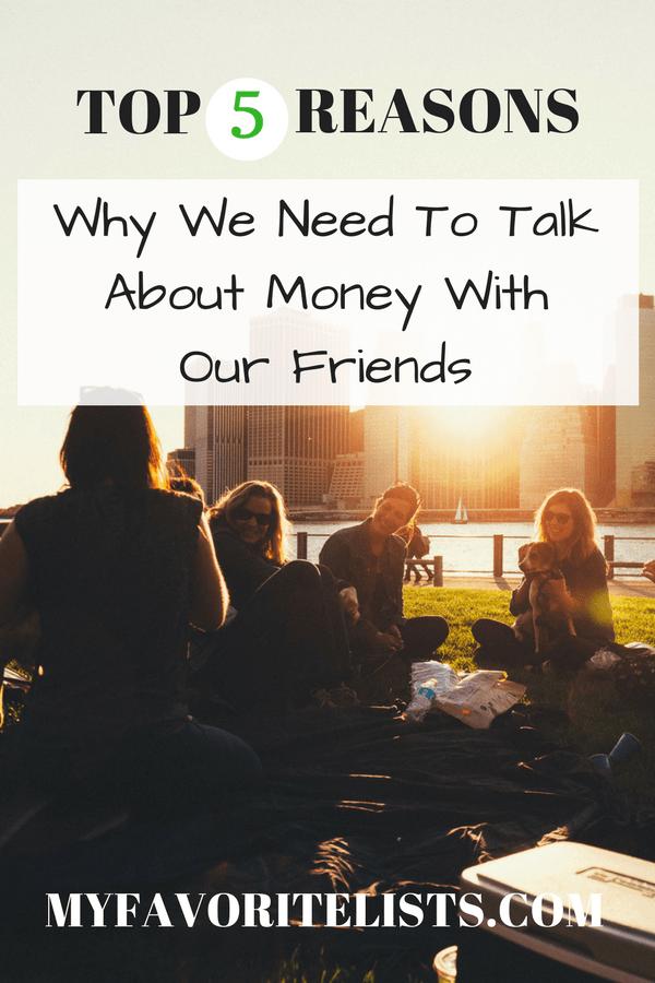 friends talking about finances
