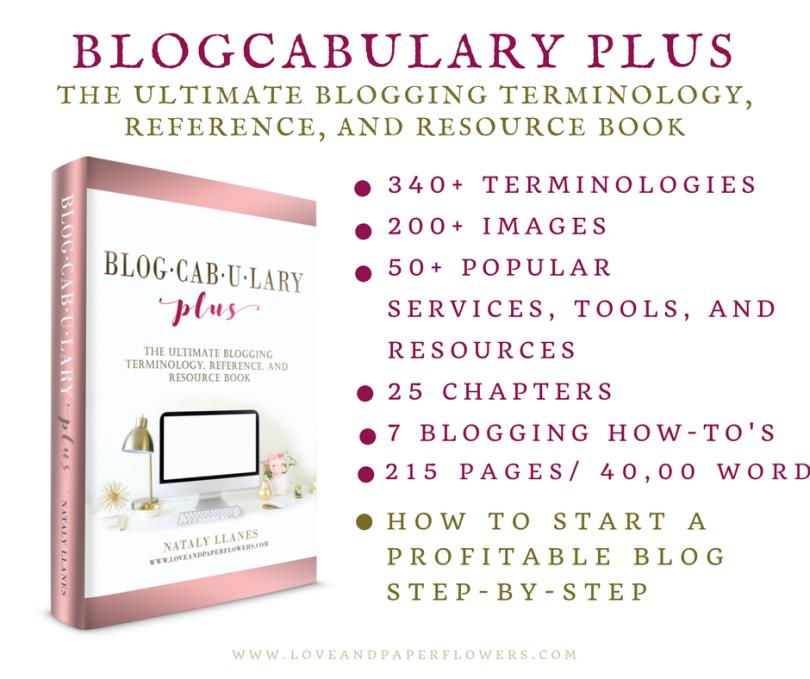 Blogcabulary Plus Book Ad